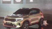Kia Sonet Concept Front Three Quarters Auto Expo 2