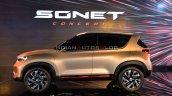 Kia Sonet Concept Profile Live Image
