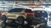 Kia Sonet Concept Rear Three Quarters Auto Expo 20