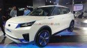 Mahindra E Xuv300 Concept Front Three Quarters Lef