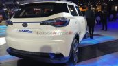 Mahindra E Xuv300 Concept Rear Three Quarters Righ