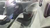 Mahindra Funster Concept Rear Seat Auto Expo 2020