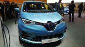 Renault Zoe Ev Front At Auto Expo 2020