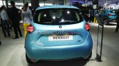 Renault Zoe Ev Rear At Auto Expo 2020
