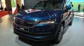 Skoda Karoq Front Three Quarters Auto Expo 2020