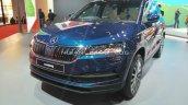 Skoda Karoq Front Three Quarters Auto Expo 2020 Fe