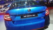 Skoda Octavia Rs 245 Rear Auto Expo 2020