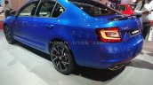 Skoda Octavia Rs 245 Rear Three Quarters Auto Expo