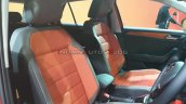 Vw T Roc Front Seats Auto Expo 2020