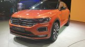 Vw T Roc Front Three Quarters Auto Expo 2020