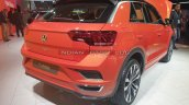 Vw T Roc Rear Three Quarters Auto Expo 2020