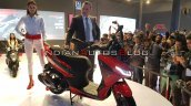 Aprilia Srx 160 Auto Expo 2020 Right Front Quarter
