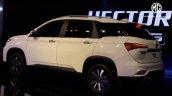 Mg Hector Plus Rear Three Quarters Auto Expo 2020