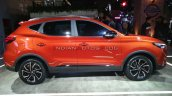 New Mg Zs Petrol Facelift Right Side Auto Expo 202