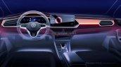 Next Gen Vw Vento Interior Dashboard Teaser Russia