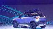 Tata Hbx Concept Rear Three Quarters At Auto Expo