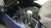 2020 Maruti Ignis Facelift Floor Console Auto Expo