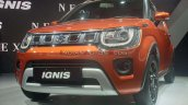 2020 Maruti Ignis Facelift Front Three Quarters Au
