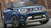 2020 Maruti Ignis Facelift Front Three Quarters Au