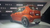 2020 Maruti Ignis Facelift Rear Three Quarters Aut