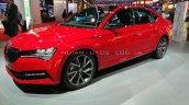2020 Skoda Superb Sportline Facelift Front Three Q