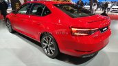 2020 Skoda Superb Sportline Facelift Rear Three Qu