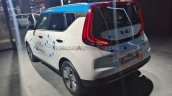 Kia E Soul Ev Rear Three Quarters Auto Expo 2020 7