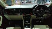 Skoda Kodiaq Petrol Interior Dashboard Auto Expo 2