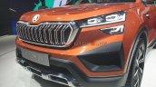 Skoda Vision In Suv Front Fascia Auto Expo 2020
