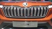 Skoda Vision In Suv Grille Auto Expo 2020