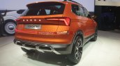 Skoda Vision In Suv Rear Three Quarters Right Side