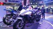 Suzuki Katana Front Three Quarters Auto Expo 2020