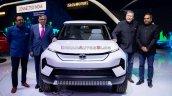 Tata Sierra Ev Concept Front Auto Expo 2020 Live