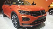 Vw T Roc Front Three Quarters Right Side Auto Expo