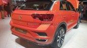 Vw T Roc Rear Three Quarters Auto Expo 2020 B729