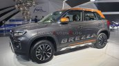 2020 Maruti Vitara Brezza Facelift Grey Orange Lef