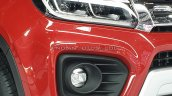 2020 Maruti Vitara Brezza Facelift Red Black Headl
