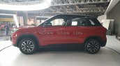 2020 Maruti Vitara Brezza Facelift Red Black Profi