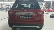 2020 Maruti Vitara Brezza Facelift Red Black Rear