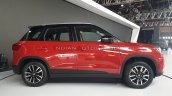 2020 Maruti Vitara Brezza Facelift Red Black Side