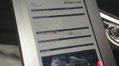 Kia Carnival Hi Limousine Specifications And Featu