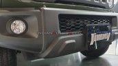Suzuki Jimny Lower Front Fascia Details Auto Expo