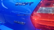 Suzuki Swift Hybrid Hybrid Bootlid Badge Auto Expo