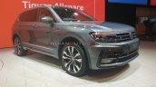 Vw Tiguan Allspace Front Three Quarters Auto Expo