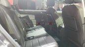 Vw Tiguan Allspace Rear Seats Auto Expo 2020