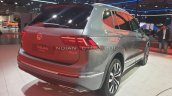 Vw Tiguan Allspace Rear Three Quarters Auto Expo 2