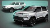 Tata Sierra Ev Concept Sketch