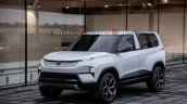 Tata Sierra Ev Concept Front Three Quarters 89cd