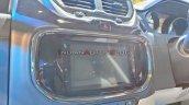 Tata Hexa Safari Concept Infotainment System Auto