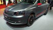 Skoda Rapid Matte Concept Front Three Quarters Aut